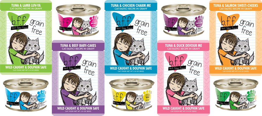 Tuna clipart bonito. Bff natural cat food