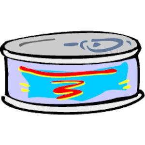 Tuna clipart can. Free cliparts download clip