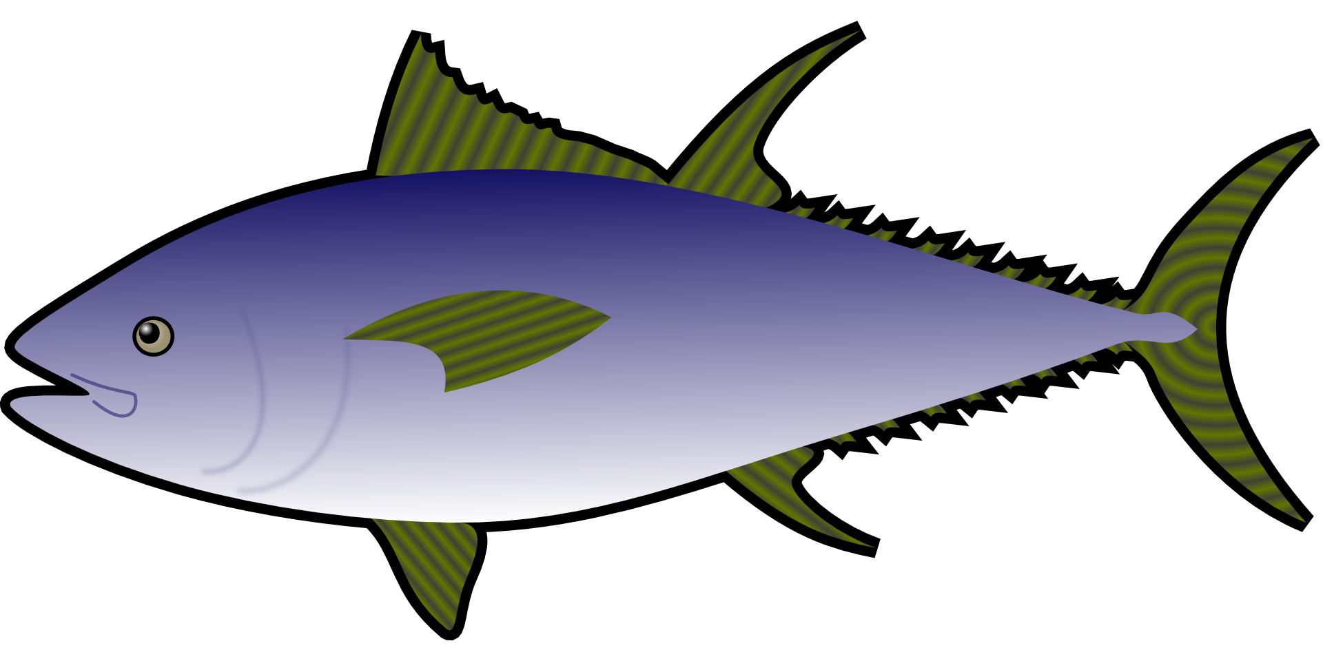 Atlantic bluefin fish sandwich. Tuna clipart charlie
