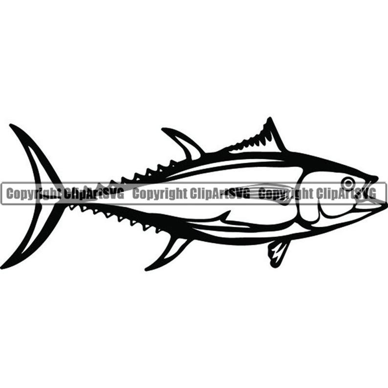 Tuna clipart commercial. Fish fishing angling salt