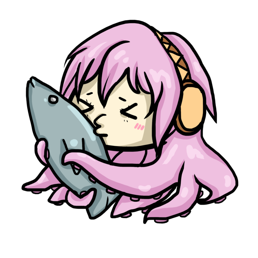 Tuna clipart drawn. Tako luka and the