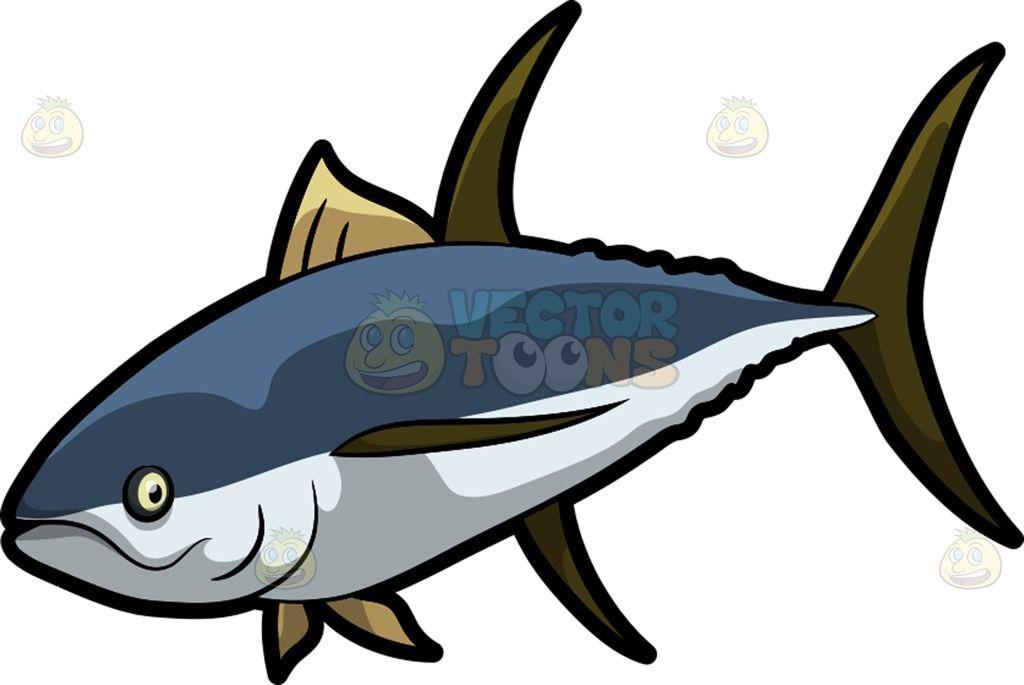Tuna clipart fish gill. A with dark yellow