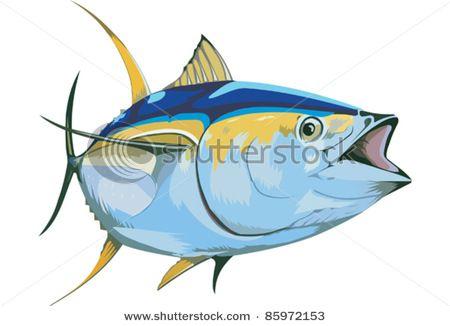 Fish clip art panda. Tuna clipart fishr