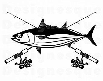 Tuna clipart fishr. Fish svg etsy