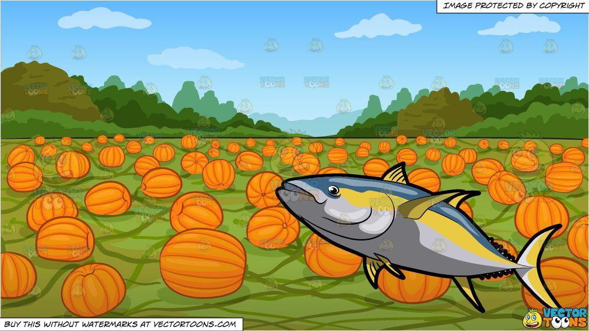 Cartoon a yellowfin and. Tuna clipart large fish