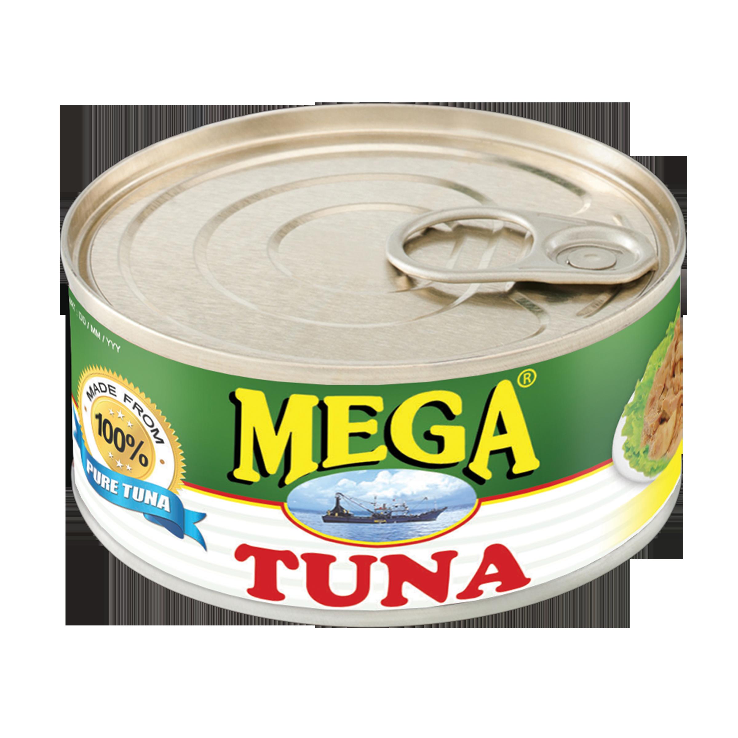 Tuna clipart mackerel fish. Mega flakes in oil