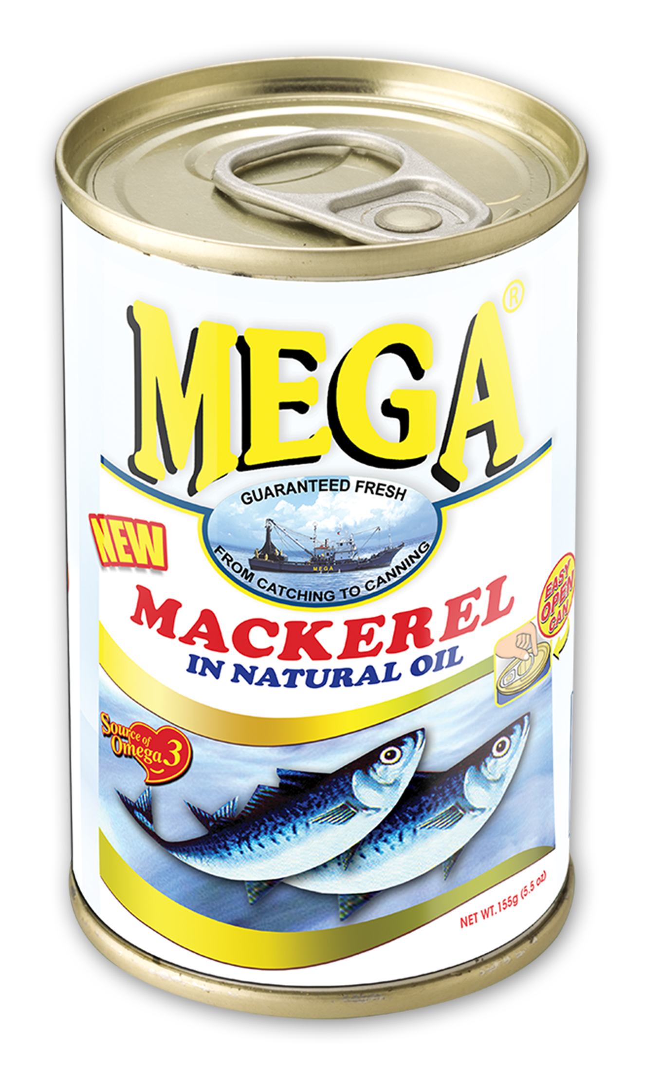 Mega in natural oil. Tuna clipart mackerel fish