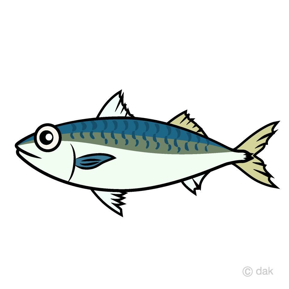 Tuna clipart mackerel fish. Free picture illustoon