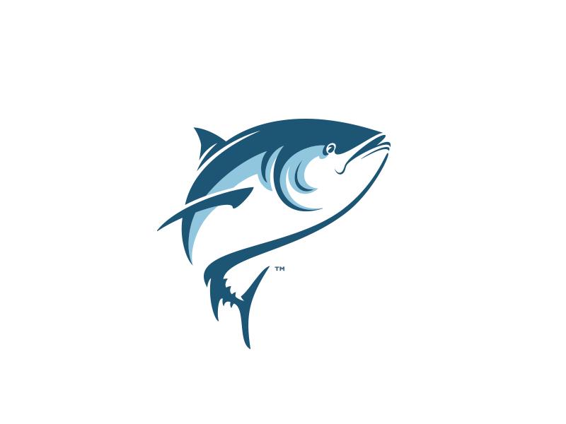 Tuna clipart seafood restaurant. Illustrations fish logo icon