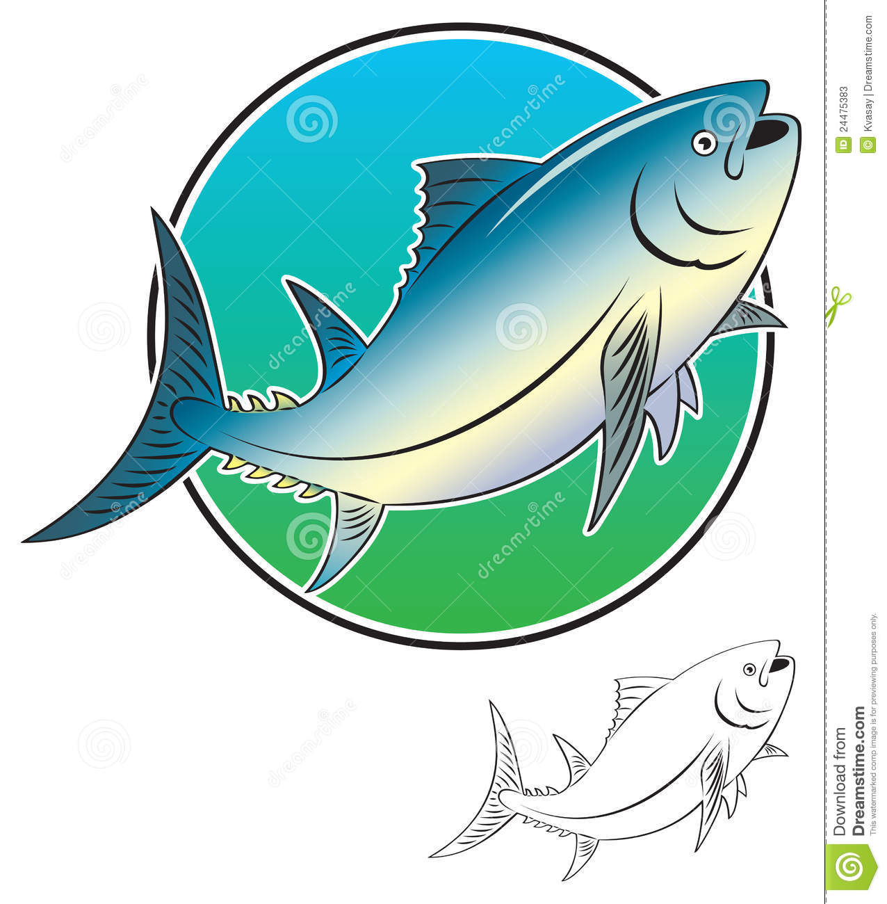 Tuna clipart tuna fish. Clip art panda free