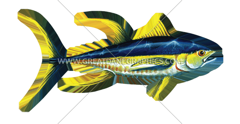 Production ready artwork for. Tuna clipart yellowfin tuna