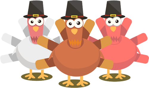 Turkeys clipart. Free thanksgiving images