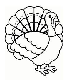 Turkeys clipart coloring page. Fresh turkey pages cleanty
