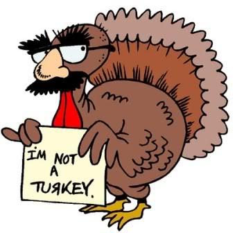 Turkeys clipart fun. Spinning up some turkey