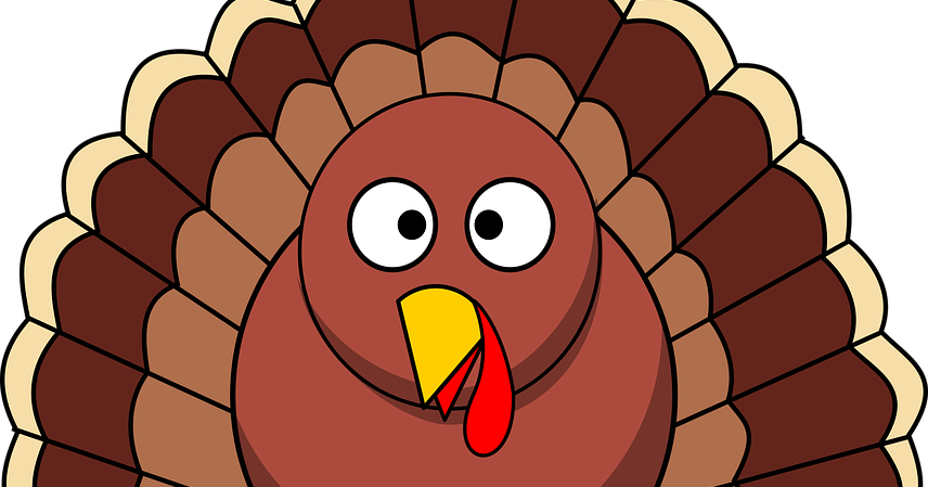 Carving a turkey with. Turkeys clipart knife