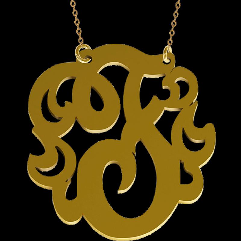 Initials jewelry monogrammed initial. Turkeys clipart monogram