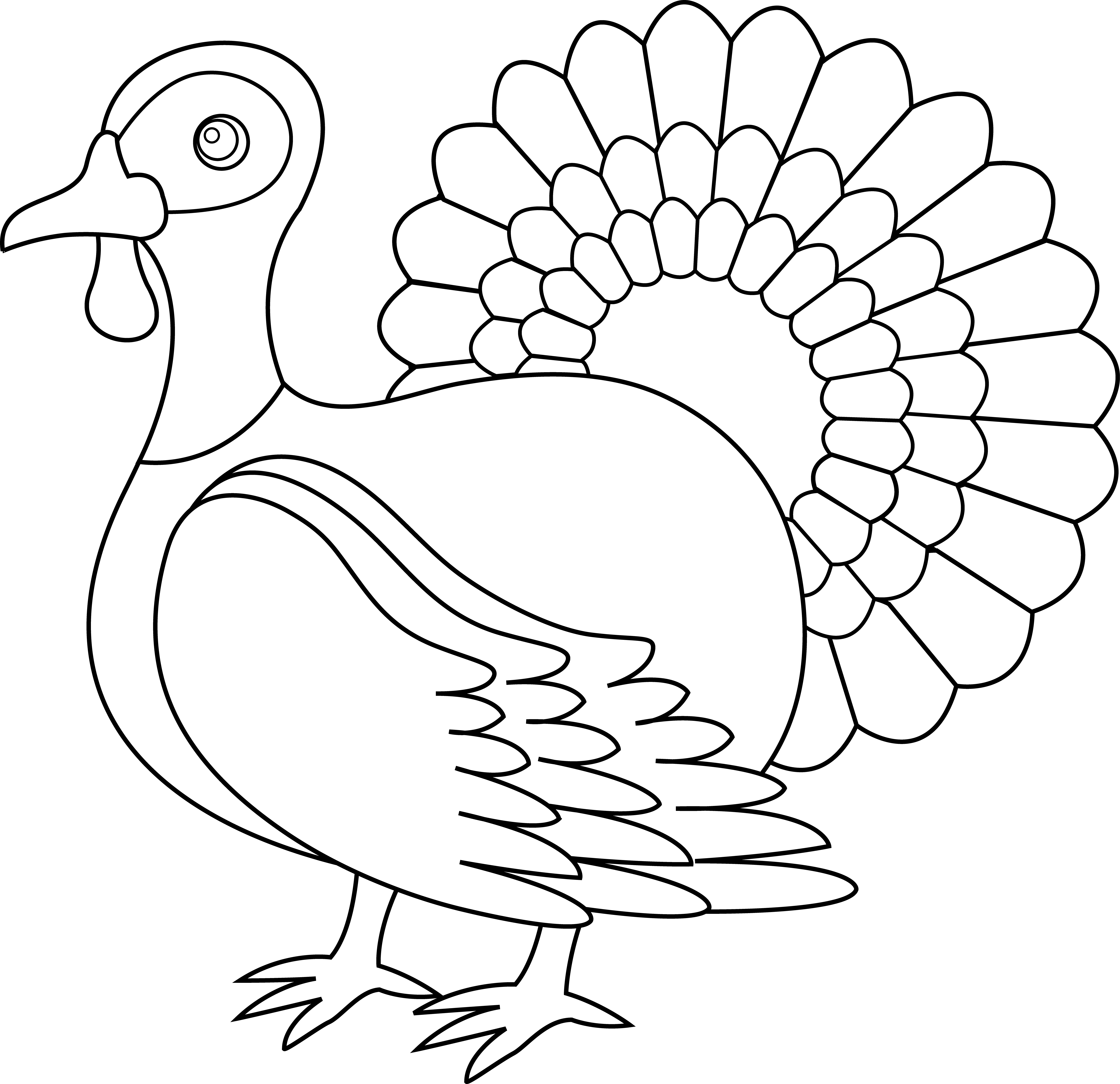 Thanksgiving lines cliparts free. Turkeys clipart nose