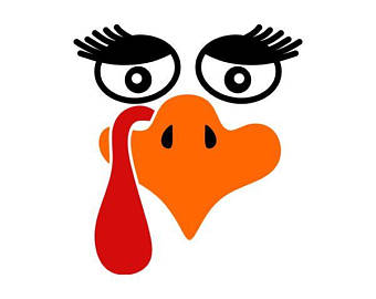 Turkeys clipart nose. Turkey face free download
