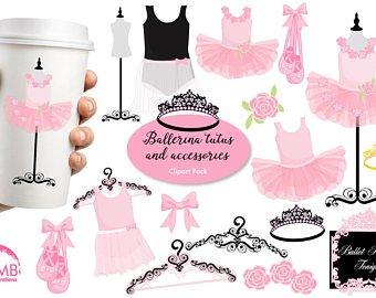 Etsy ballerina ballet tutus. Tutu clipart