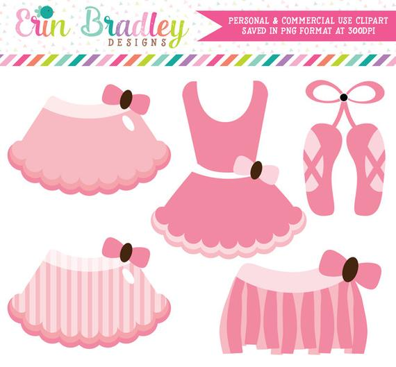 Ballerina tutus commercial use. Tutu clipart pale pink