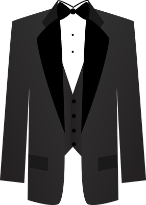 Tuxedo clipart. Minus cricut weddings things