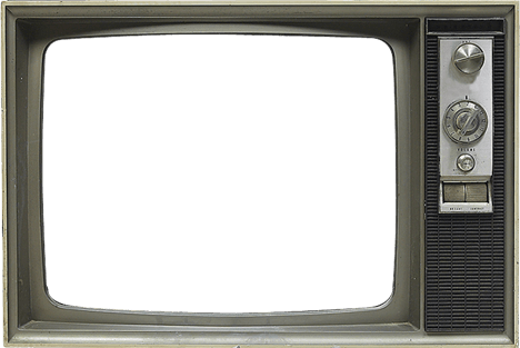 clipart tv empty