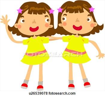 Twins clipart. Twin clip art free