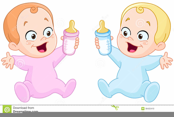 Twins clipart. Baby boy free images