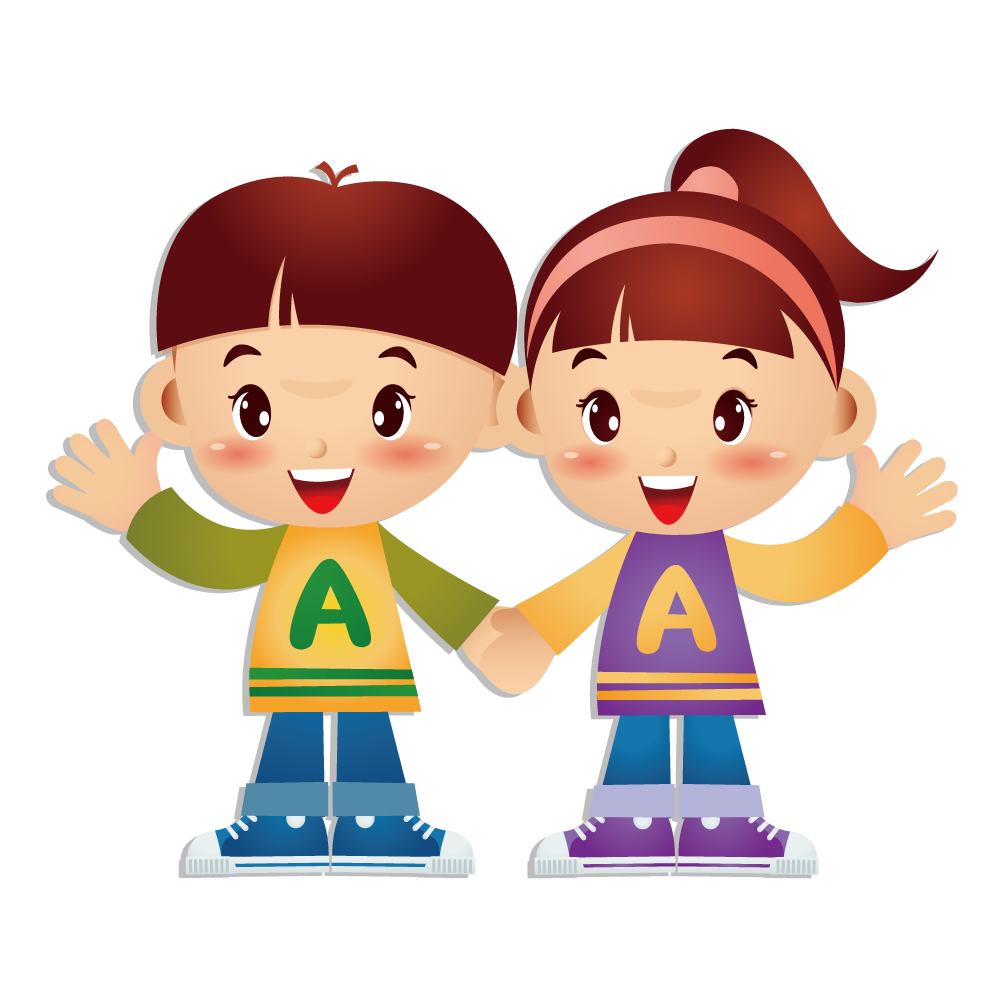 Twins clipart boy girl twin. Cartoon brother transprent png