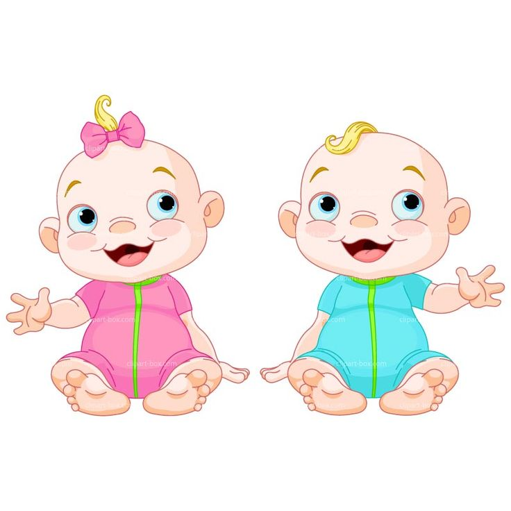Free animated cliparts download. Twins clipart happy