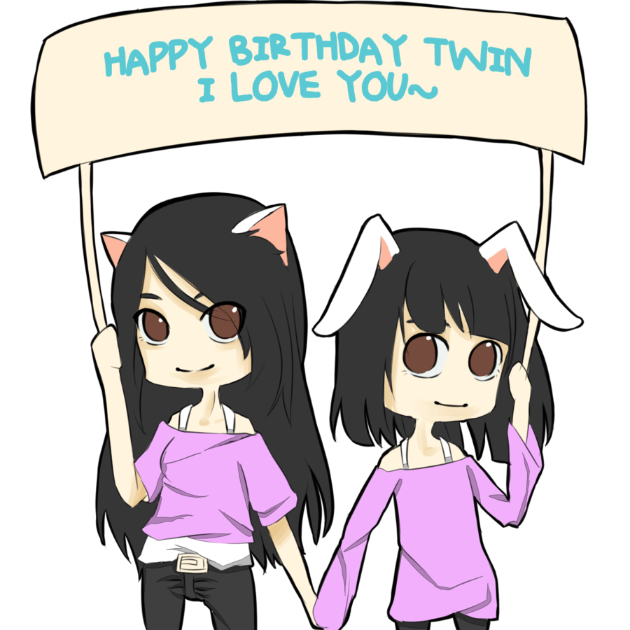 collection of birthday. Twins clipart happy