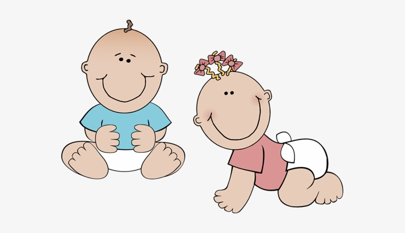 Royalty free stock clip. Twins clipart twin baby