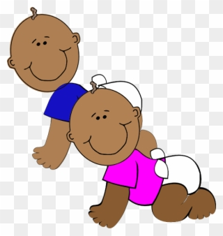 Twins clipart twin baby. Free png babies clip