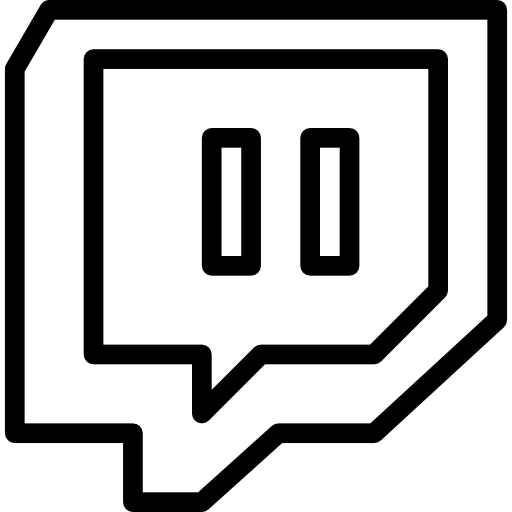 Twitch icon png. Free social media icons