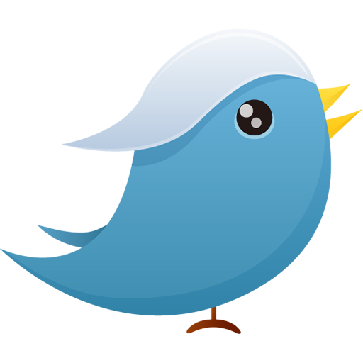 Twitter bird png. Image royalty free stock