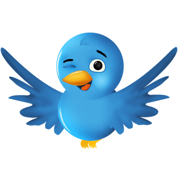 Twitter bird png. Icon