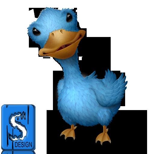 Free image. Twitter bird png transparent