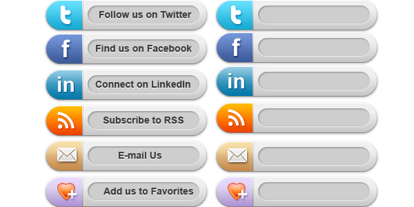 Twitter buttons png. Social media free images