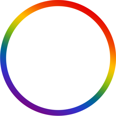 Lgbt pride support campaign. Twitter circle png