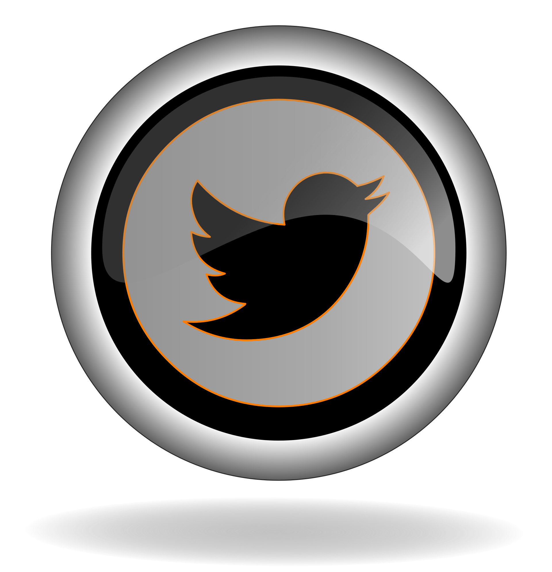 Twitter emblem png. Logo icon play