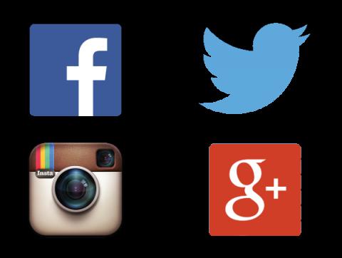Sm logo group triplet. Twitter facebook instagram png