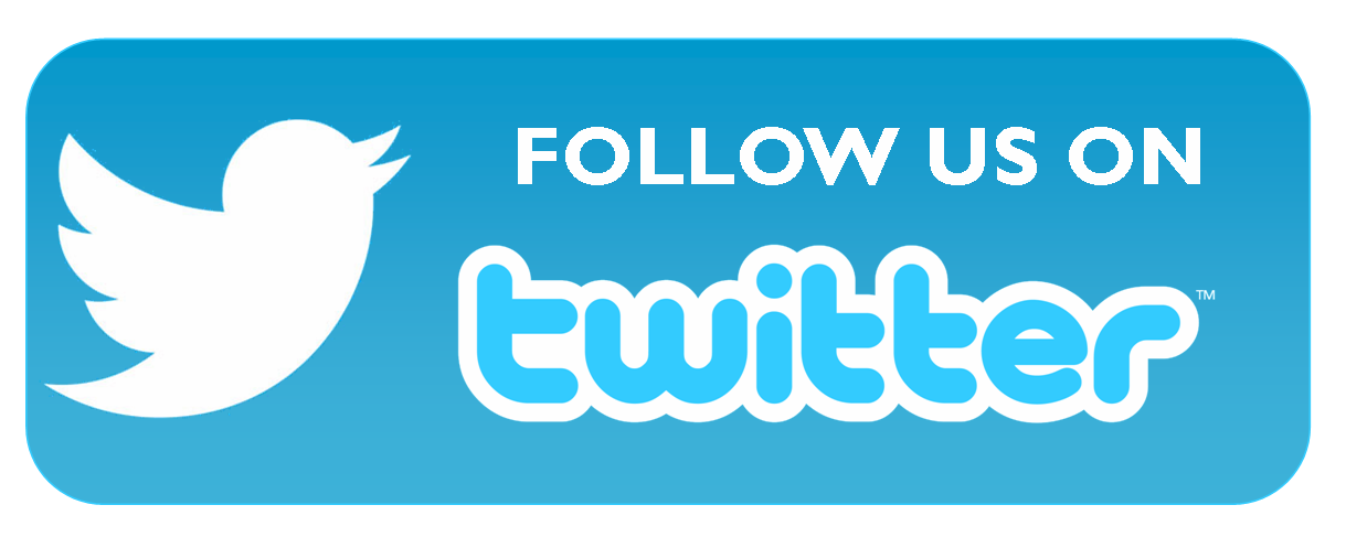 Us on social media. Twitter follow button png