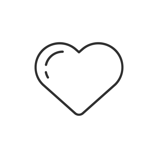Love like icon size. Twitter heart png