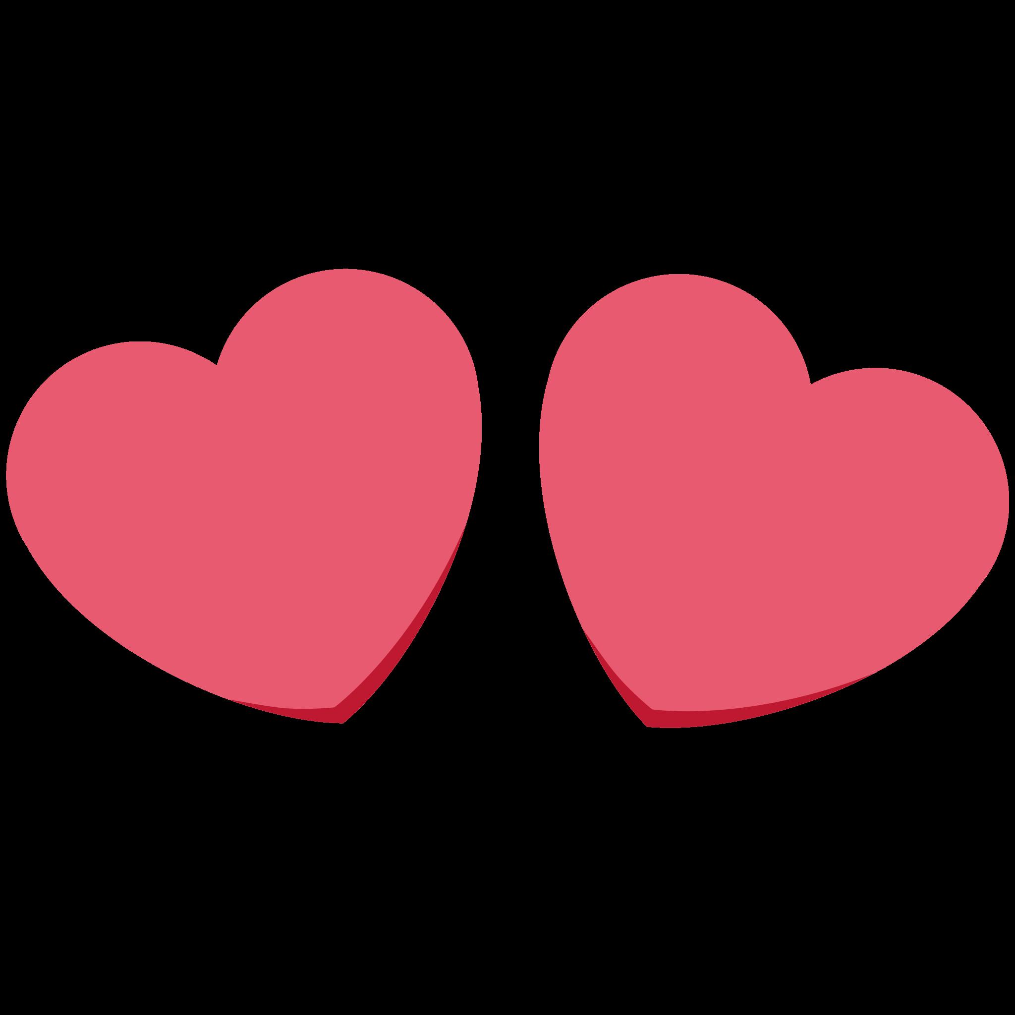 Twitter heart png. Sticker timeline eyes by