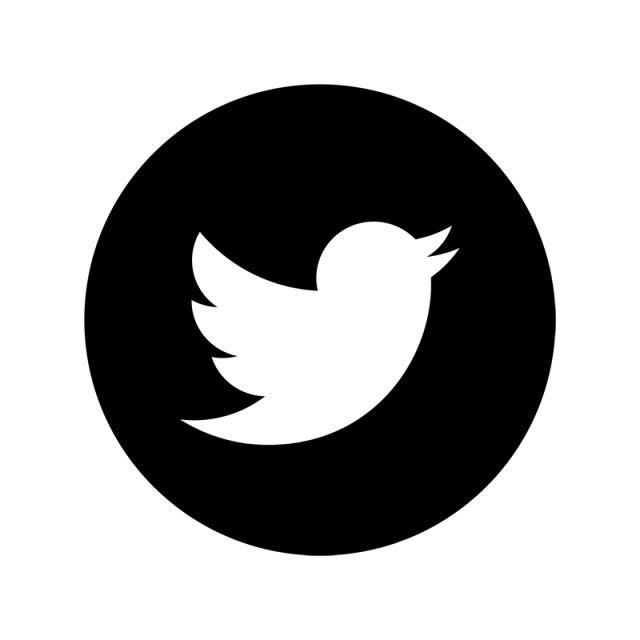 Twitter icon png white. Black amp social media