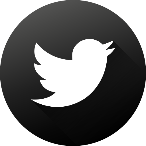Twitter icons png. Social media black white