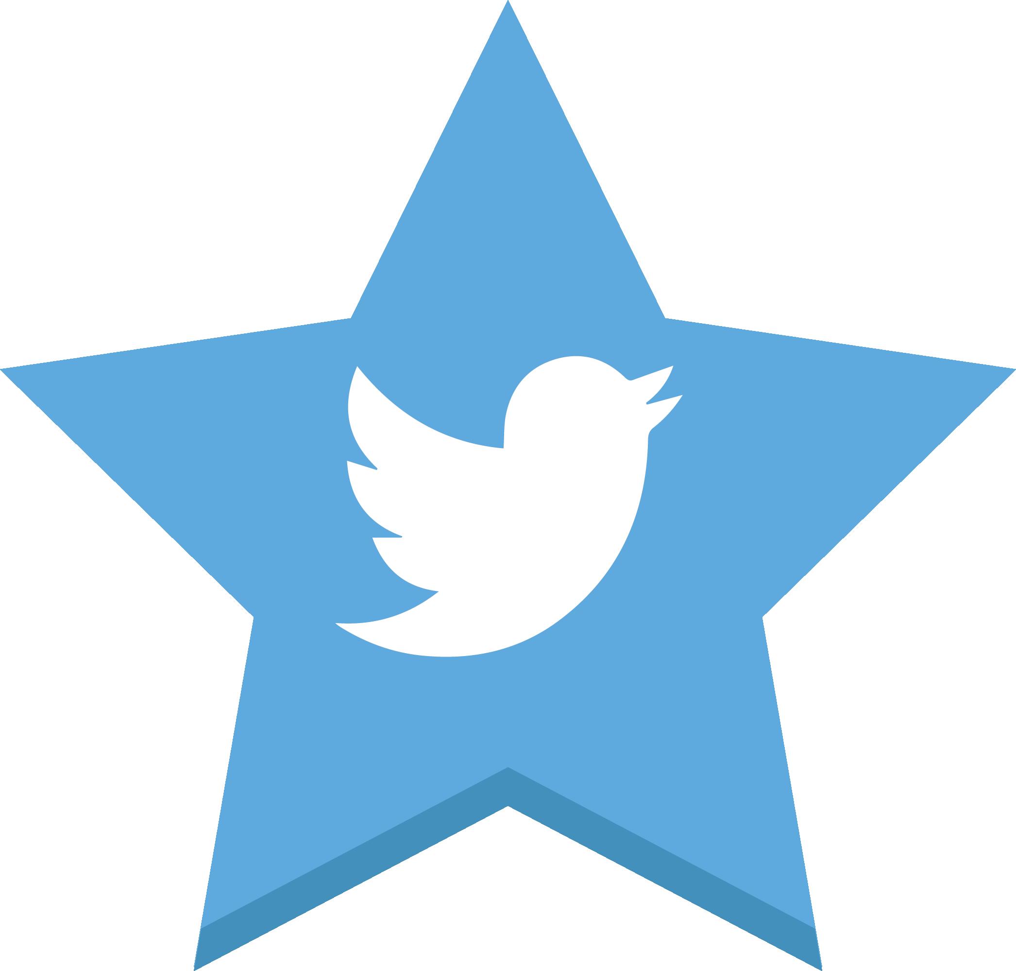 Twitter like png. Social stars by pixelmarketo