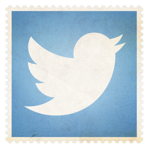 Icon flat vintage social. Twitter png icons