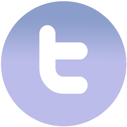 File icon gradient blue. Twitter symbol png