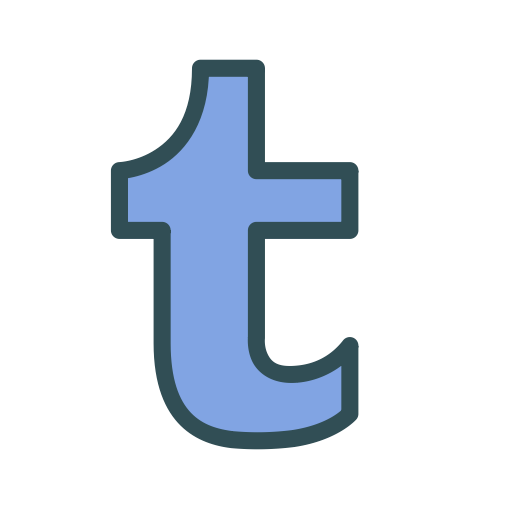 Twitter t icon png. Social media letter free